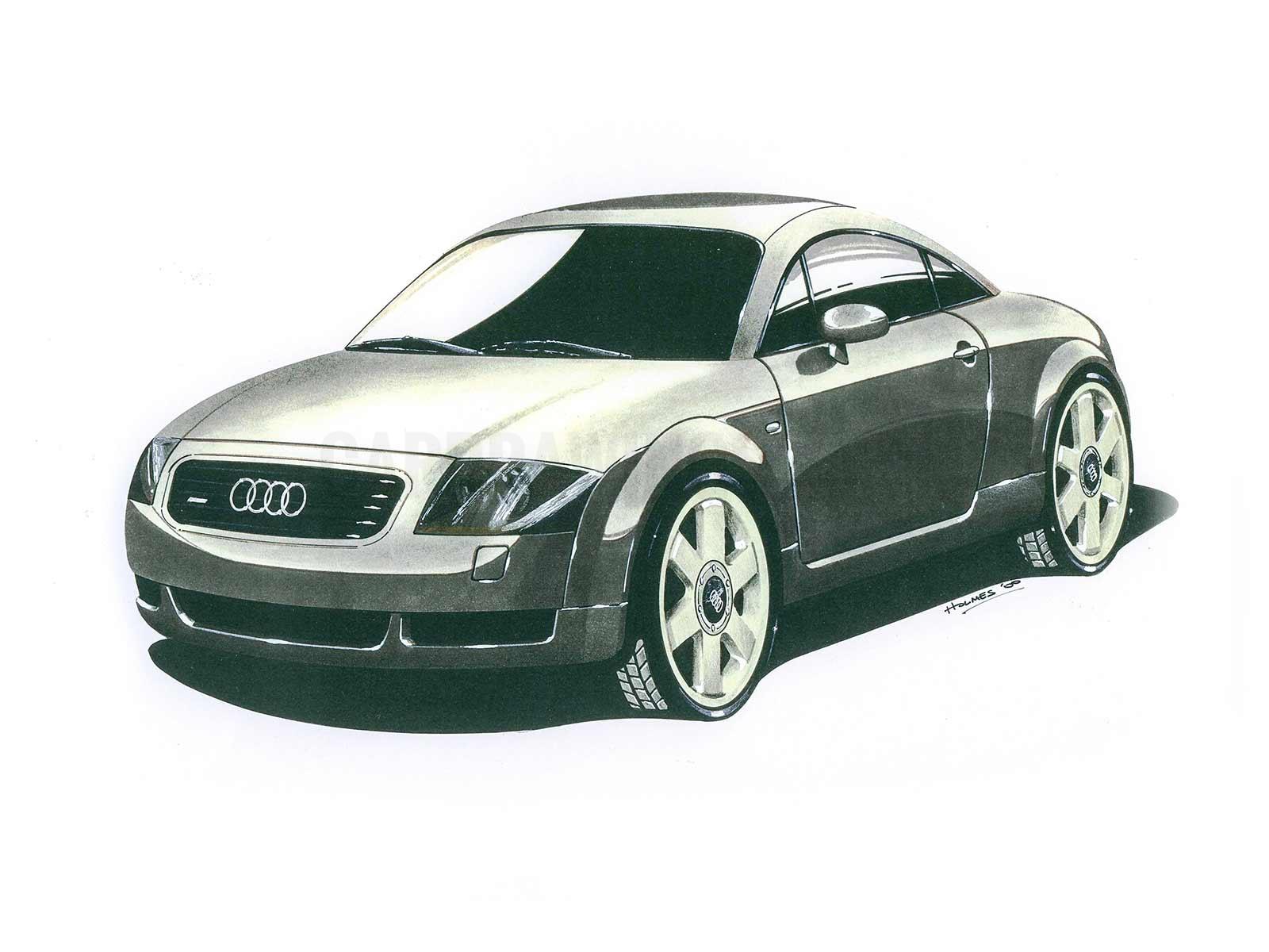 Audi TT Grey