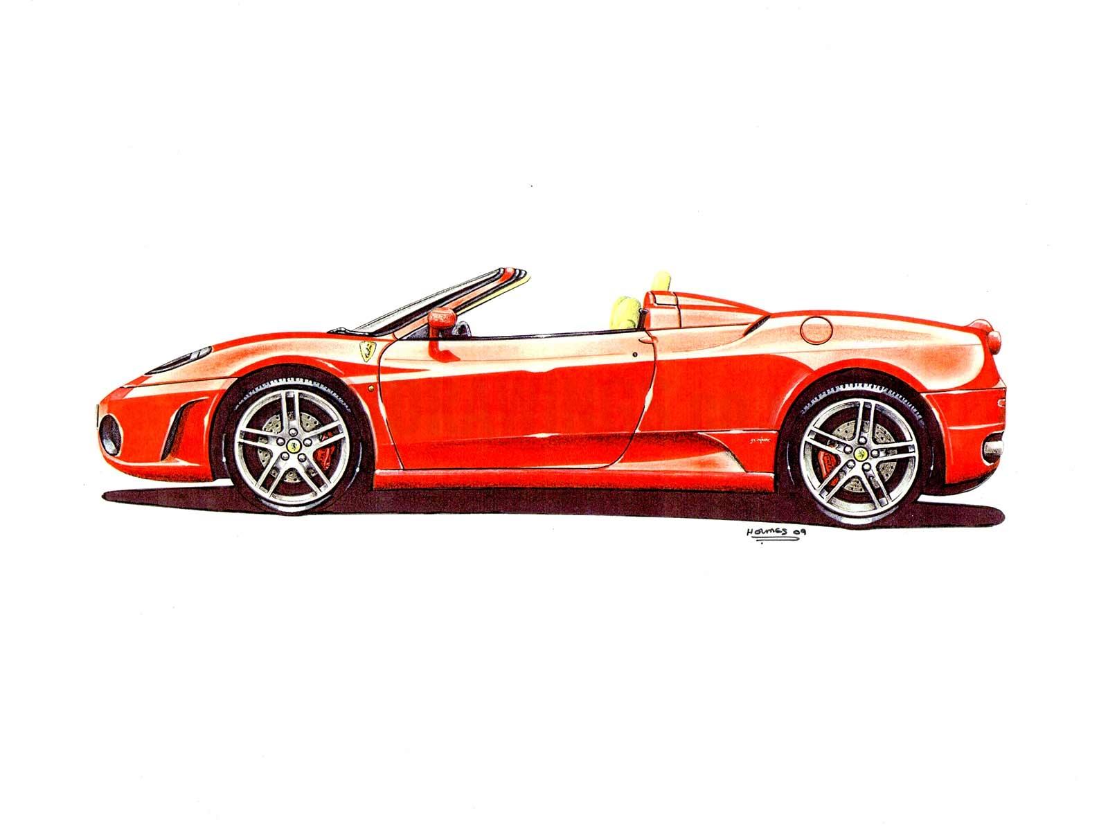 Ferrari F430 Side