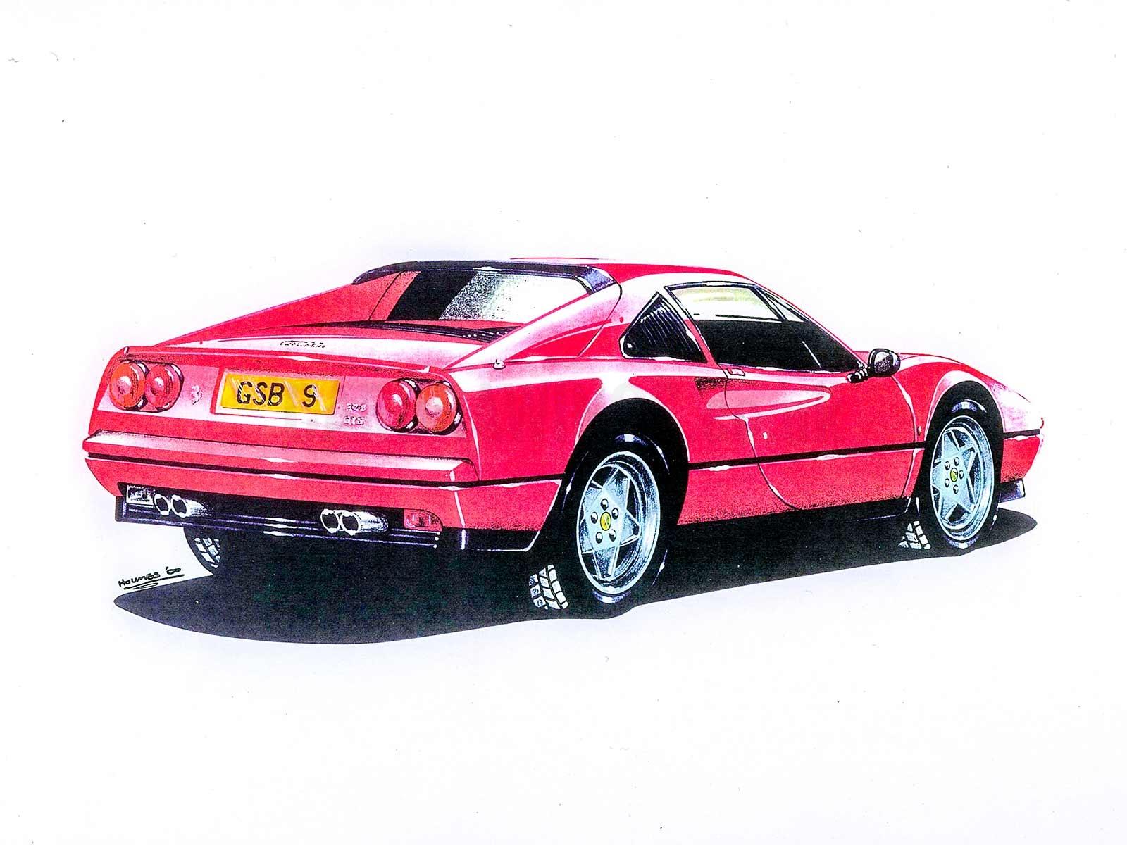Ferrari GTS Rear