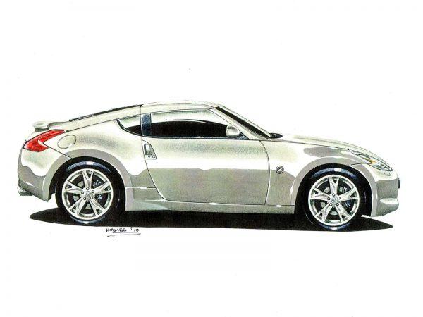 Nissan 370z side