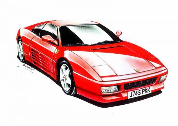 Ferrari 348 front